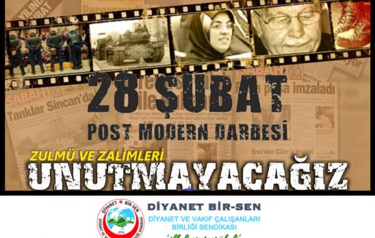 Genel Başkan Hasan TÜRÜT'ten 28 Şubat Açıklaması